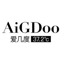 AIGDOO 爱几度  37.2° Clogo