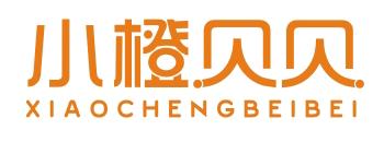 小橙贝贝logo