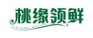 桃缘领鲜logo
