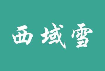 西域雪logo