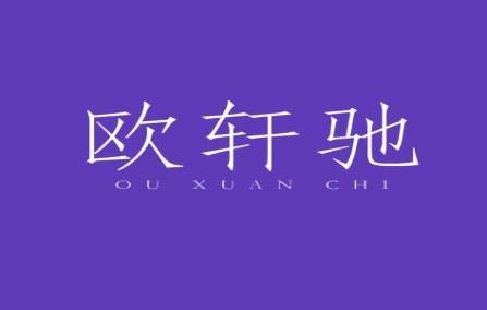 欧轩驰logo