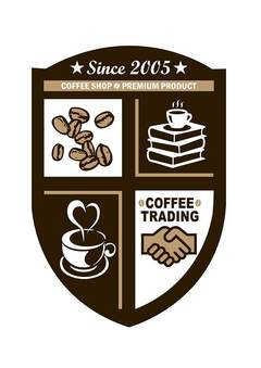 SINCE 2005 COFFEE SHOP PREMIUM PRODUCT COFFEE TRADING